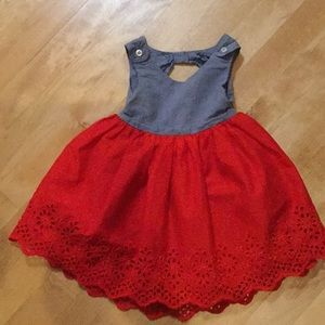 Adorable baby Gap sun dress toddler size 18-24M